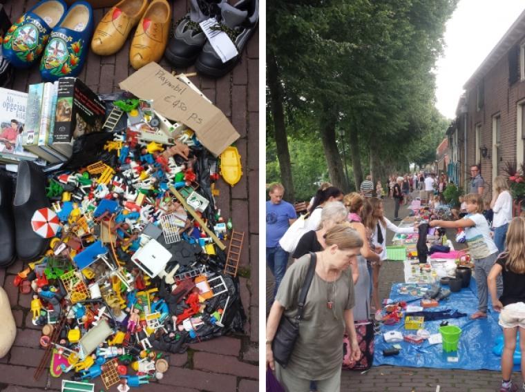 Hattem-rommelmarkt-kleedjesmarkt-Playmobil